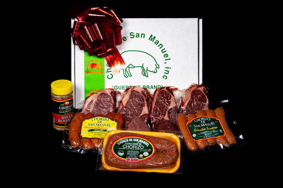 Chorizo De San Manuel - Change Up Your Holiday Menu by Adding One (or All!) of Our Meats!