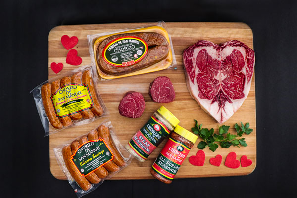 At Chorizo de San Manuel, we know that picking out the right meats for a Valentine's Day barbeque dinner can be a little tough.
