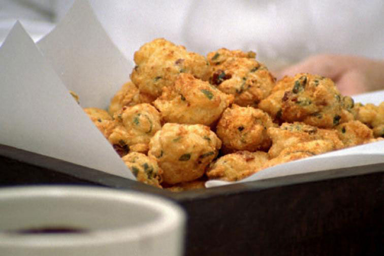 Fried Chorizo Puffs - the Perfect Appetizer for any Occasion!