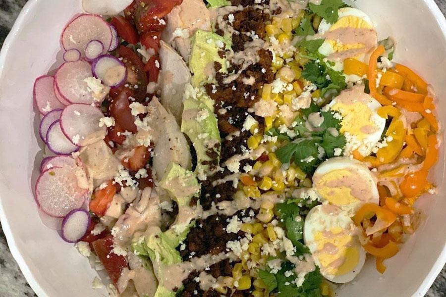 Mexican Chorizo Cobb Salad