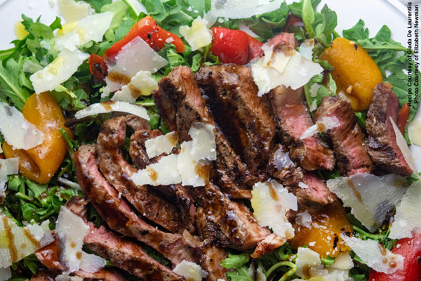 Prime Ribeye Steak Salad