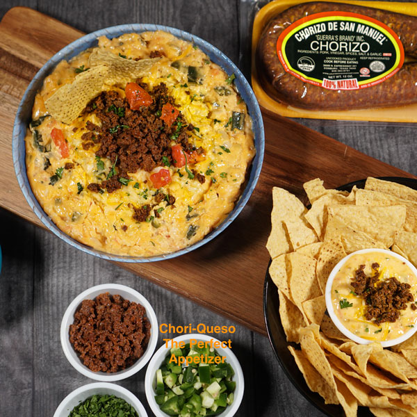 Game Day Choriqueso Dip